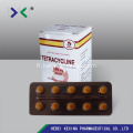 Comprimé d'oxytétracycline animale 200mg