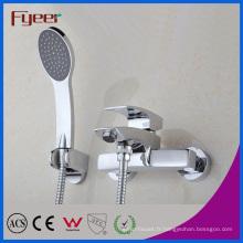 Fyeer Salle de bain baignoire et douche robinet avec inverseur (QR100T)