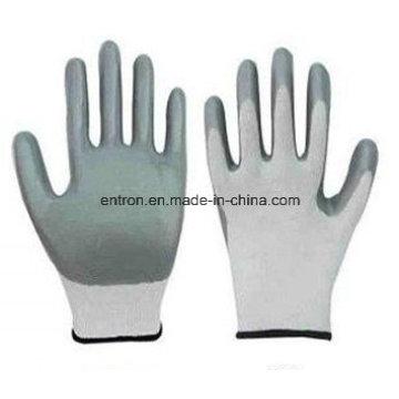 13G Polyester Nitril Palm Beschichtung Handschuh