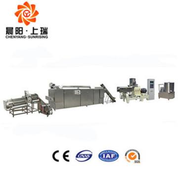 Machine automatique de miettes de pain d'extrudeuse à double vis