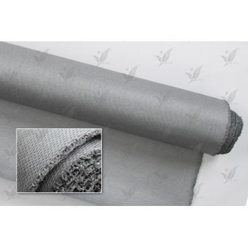Pano de fibra de vidro revestido de silício de cor cinza à prova de fogo