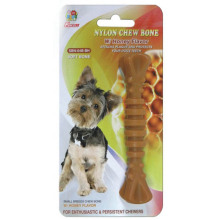 "Percell 4,5 ""Nylon Dog Chew Spiral Bone Honung Doft"