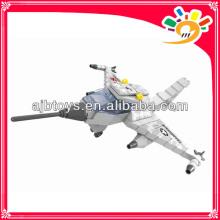 168pcs Militär Spielzeugblock DIY Flugzeugblöcke Spielzeug