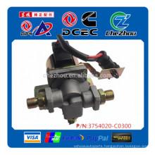 Genuine Dongfeng truck parts air horn alarm magnet valve solenoid valve 3754020-C0300