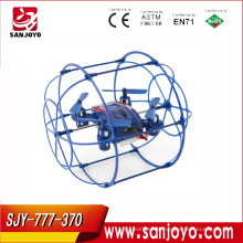 Drone toy 777-370 2.4G small UFO with LED mini quadcopter