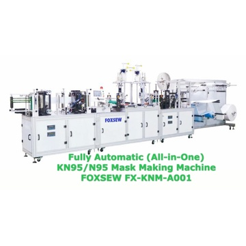 Fully Automatic KN95 Mask Making Machine