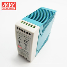 Fuente de alimentación del carril del dinar del MW 40W sola salida 12V 3.33A UL CUL TUV CB CE MDR-40-12