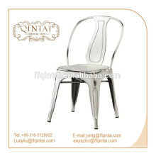 Cheap kitchen bistro chair cafe metal dining chairs loft