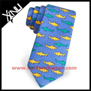 Design personalizado impresso Anime gravata