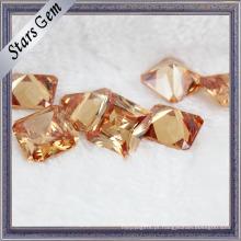 Brilhante forma quadrada Zircon Gemstones