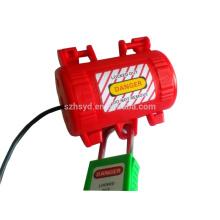 electrical plug locking device