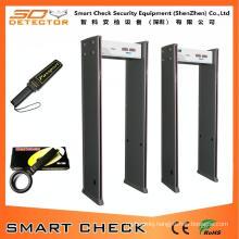 Good Price Walk Through Metal Detector Door Frame Metal Detector 6 Zone