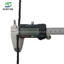 4mm Black/Green/PE/Nylon/Polyethylene/Tarpaulin/Plastic/Fishing/Marine/Mooring/Packing/Twist/Twisted/Tent Rope