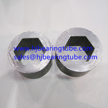 Inner hexagonal outer round structural steel tubing