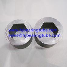 Внутренние шестигранные наружные круглые трубы из конструкционной стали