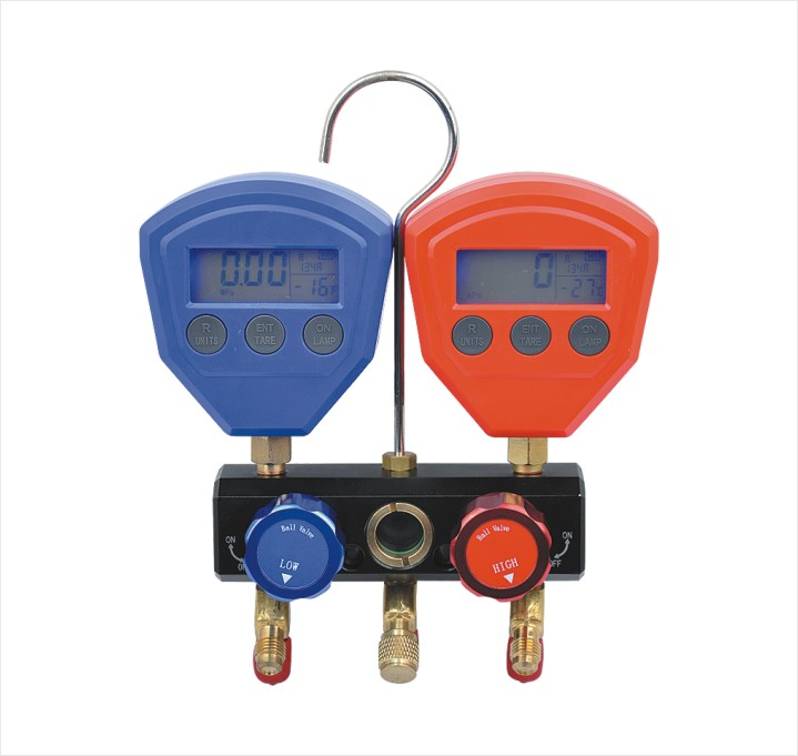 High Quality Portable Refrigerant Manifold Gauge Kit
