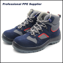 Genuine Leather Lightweight Sport Style Ce Safety Shoes