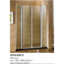 Образец душевая дверь для ванной комнаты wtm в 03D15