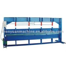 Máquina hidráulica de dobra de chapa, dobradora, dobradeira