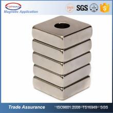 Kundenspezifischer Ndfeb Neodym Neodium Neodym Magnet Magnett für Fan Motor