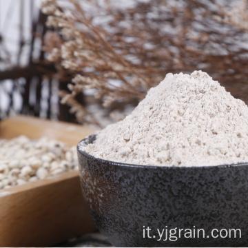 Rifornimento di fabbrica di semi di coix decorticati in polvere Semen