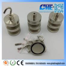 Starker D32X7mm hochwertiger Neodym Permanent Pot Magnet