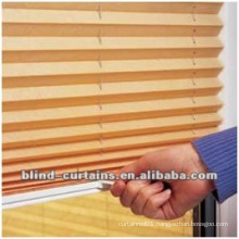 Sunscreen pleated blind new design