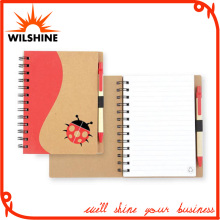 Spiral Notebook Diary with Pen for Stationery Exercise Book (SNB111)