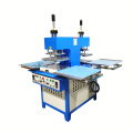 4 station double head embossing fabric machine