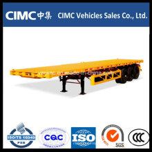 Semi Reboque Caixa Fechada Cimc 3 Axle 40 '