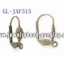 Fan shape earring findings jewelry accessories