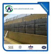 Hesco Barriers, Military Bastions, Blast Wall