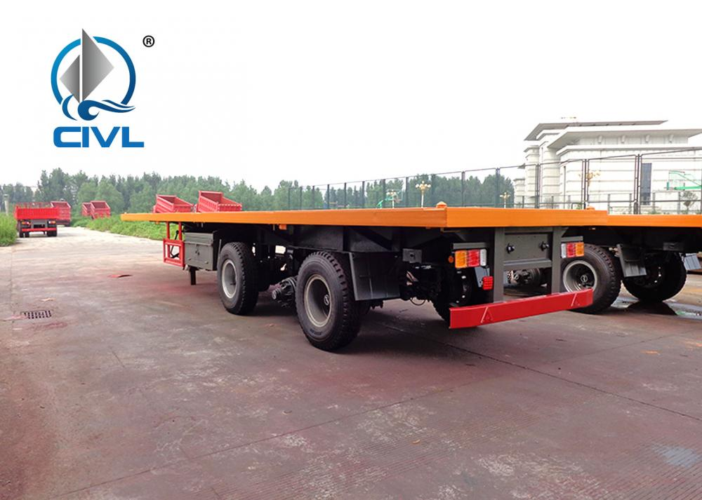 Container Flatbed Semi Trailer 4