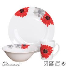 Joyería de cerámica barata de la porcelana de la etiqueta 12PCS