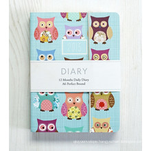 Elastic Band Paper Cover Notepad