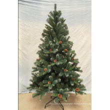 Hinged Automatic Artificial PE Christmas Trees