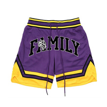 Новый дизайн мужские спортивные шорты оптом дышащий на заводе