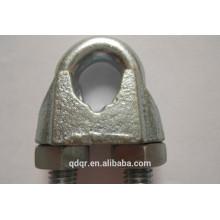 Оцинкованный ковкий Din741 трос клип--Циндао такелаж