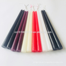 paraffin wax taper candle wholesale cheap great quality plain stick wax candle