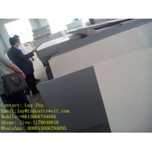 Tablero del pvc de 1.22 * 2.44cm, haciendo publicidad del tablero de la espuma del pvc