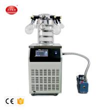 Mini Small Laboratory Vacuum Freeze Dryer (Lyophilizer) Drying Machine