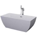 Independent Acrylic Bathtub with Shower Faucet