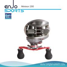 Angler Select Meteor 6.3: 1 High Gear Ratio Fishing Reel Baitcasting Reel (SBC-MRP200)