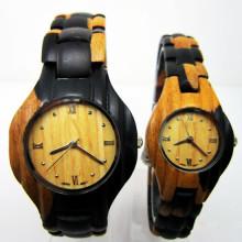 Hlw105 Soem-Männer und Frauen hölzerne Uhr-Bambusuhr-Qualitäts-Armbanduhr