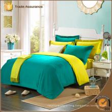 solid color bedding set factory manufacturer soft bedding set