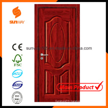 Customized Size Colour Decorative Ecology MDF Melamine Wooden Door Hotel Rooms
