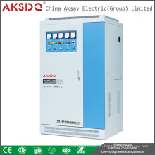 2016 Новая индустрия SVC Использование 50kva Высокая мощность 50/60 Гц Автоматический стабилизатор низкого напряжения Yueqing