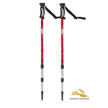 Lightweight Trekking Pole Adjustable Hiking Walking Stick