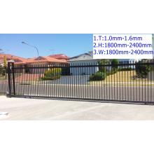 Security pier fence