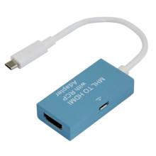 MHL vers HDMI adaptateur câble avec Rcp (six couleurs en option)